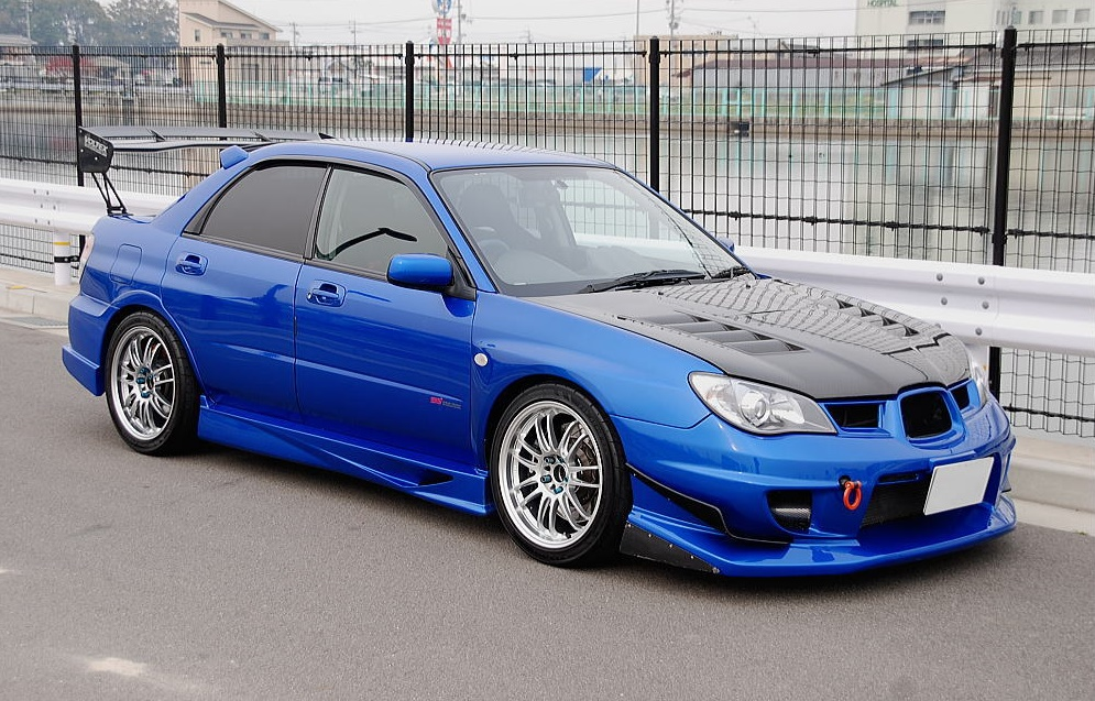 Voltex sti done right momohitsthespot personally i wouldve opted for a full voltex treatment all around but a varis rear bumper is a nice touch as well aloadofball Image collections